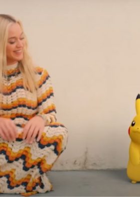 Katy Perry Pikachu