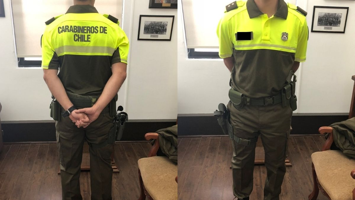 Nuevo uniforme Carabineros