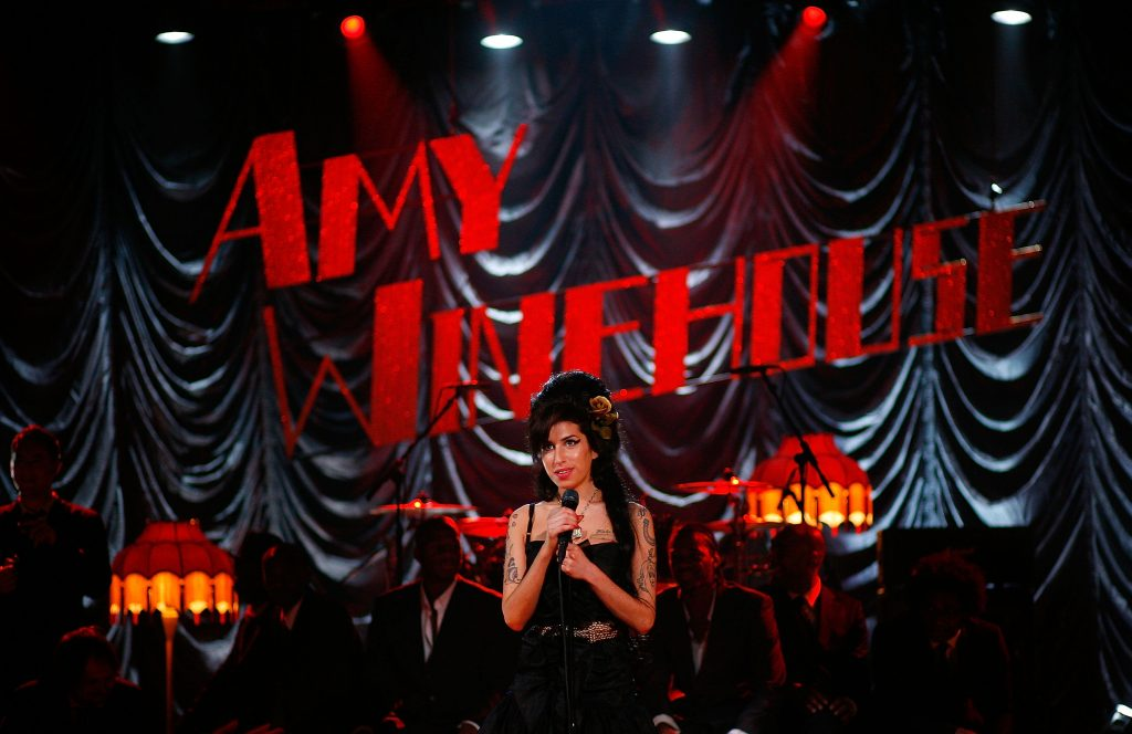 Amy Winehouse presentación Grammy's - Getty Images