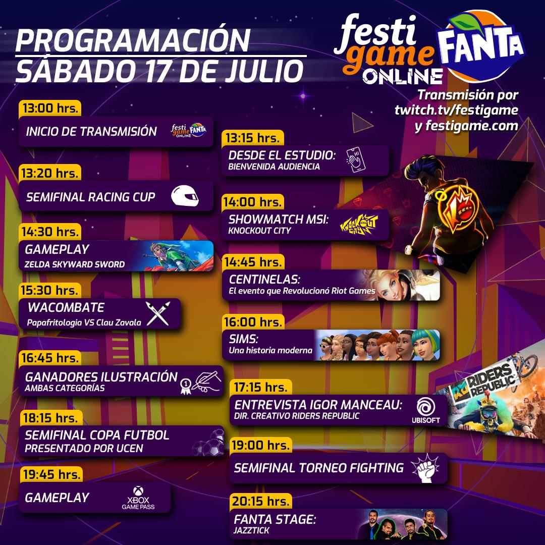 Festigame Online 2021 17 De Julio