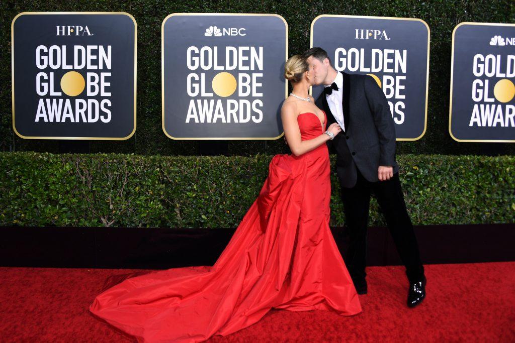 Scarlett Johansson y Colin Jost - Getty Images