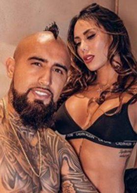 Arturo Vidal Y Sonia Isaza (1)