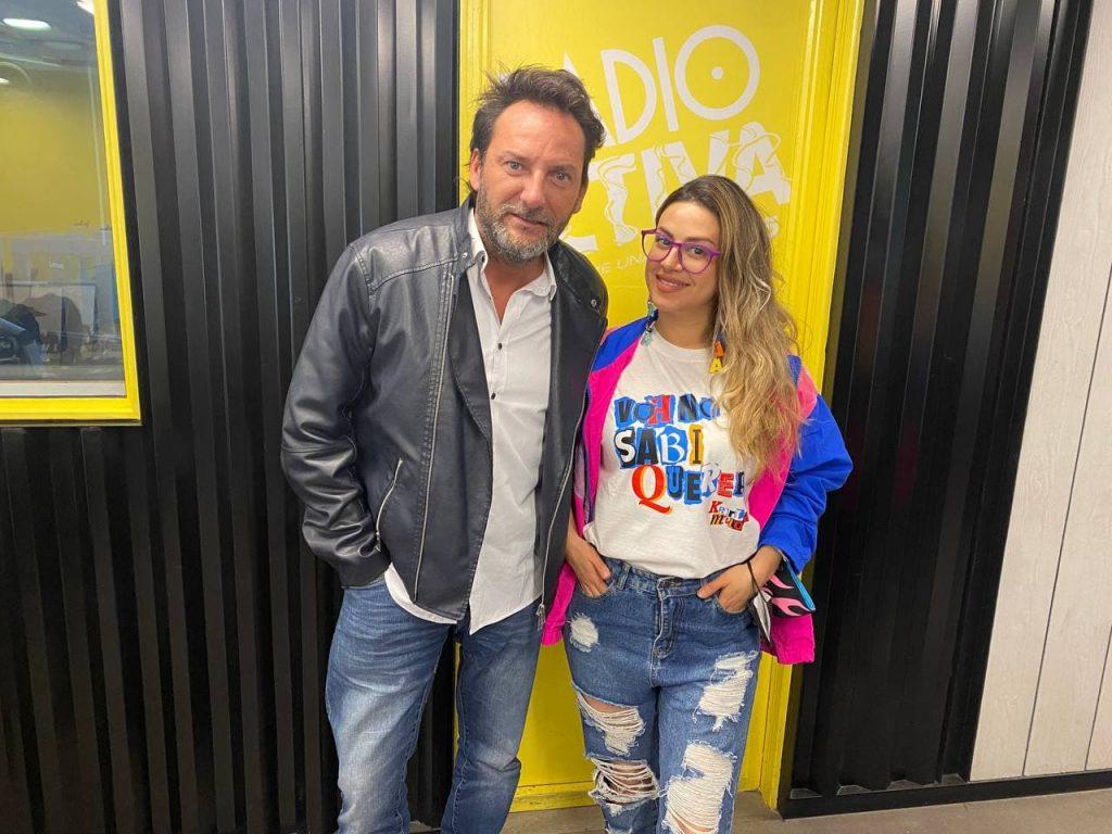 Karla Melo en Central Radio Activa